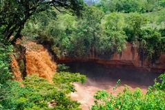 Chania fällt in Thika Kenia Afrika Lizenzfreie Stockbilder