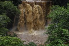 Chania fällt in Thika Kenia Afrika Lizenzfreies Stockfoto