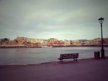 Chania gammal hamn Royaltyfri Fotografi