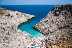 Chania, Grecia Fotografie Stock