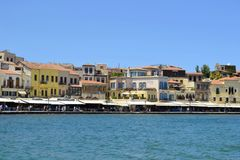 Chania in Greece Stock Images