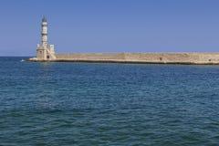 Chania-Hafen Kreta Griechenland Stockfoto
