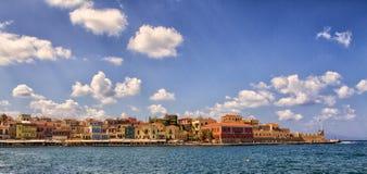 Chania on island of Crete, Greece Royalty Free Stock Image