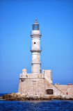 Chania lighthouse 02 Stock Images