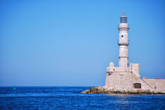 Chania lighthouse 03 Royalty Free Stock Images