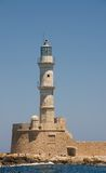 Chania lighthouse, Greece Stock Photography