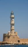 Chania lighthouse, Greece Stock Photography