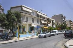 Chania - 21 mai - rues de touristes de Chania, rete de ¡ de Ð, 2013 Photographie stock libre de droits