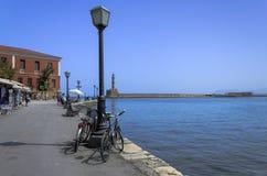 Chania - 21 mai - vieille ville de Chania en Crète dedans le 21 mai 2013 Photos libres de droits