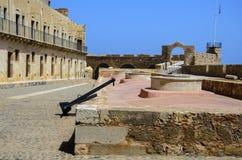 Chania - 21 mai - vieille ville. Le musée maritime de Chania, Crète, 2013 Photos stock