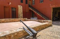 Chania - 21 mai - vieille ville. Le musée maritime de Chania, Crète, Photographie stock