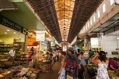 Chania market Stock Photo