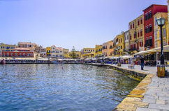 Chania - May 21 - Chania town in Crete in May 21, 2013 Royalty Free Stock Photography