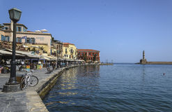 Chania - May 21 - Chania town in Crete in May 21, 2013 Royalty Free Stock Image