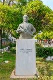 Chania Monument aan de Griekse opstandelingen Stock Foto's