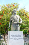 Chania. Monument to the Greek insurgents. Stock Image