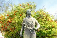 Chania Monument zu den griechischen Rebellen Stockfotos