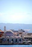 Chania mosque stock photo