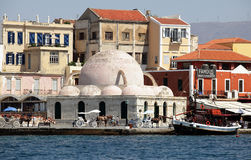 Chania mosque of the Janissaries Royalty Free Stock Photography