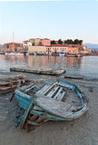 Chania old boat. Stock Image