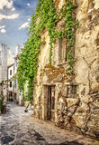 Chania old street Royalty Free Stock Image