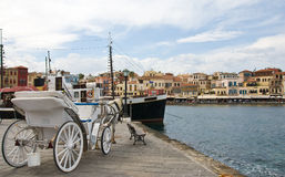 Chania old town, Crete, Greece Royalty Free Stock Photos