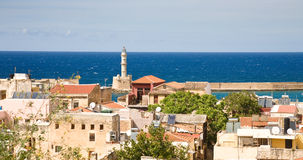 Chania old town Stock Photo