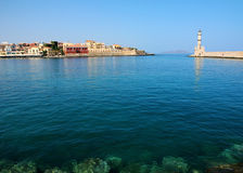 Chania,  old town port Royalty Free Stock Photos