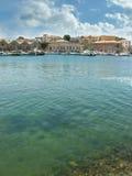 Chania port Stock Photo