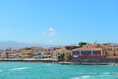 Chania port. Crete. Greece Royalty Free Stock Photography