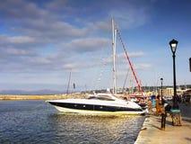Chania Port Crete Royalty Free Stock Image