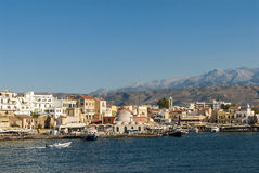 Chania skyline Royalty Free Stock Photo