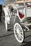 Chania tourists carriage Royalty Free Stock Image