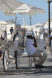 Chania tourists carriage Royalty Free Stock Photo