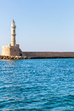 Chania town (Crete,Greece), light house Stock Images