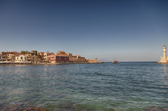 Chania town on Crete Royalty Free Stock Photography
