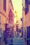 Chania town, Greece. Venetian town in Crete Stock Image