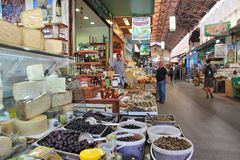 Chania traditional market Royalty Free Stock Images