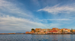 Chania Venetia Harbour Stock Photos