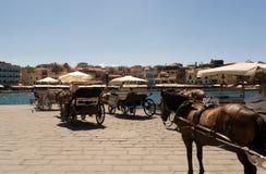 Chaniahaven, Kreta, Griekenland Royalty-vrije Stock Afbeelding