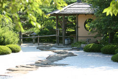 Chaniwa Japanese Garden Royalty Free Stock Image