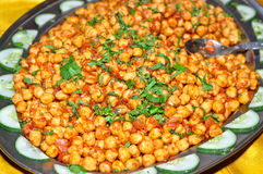 Channa Chat Stock Image