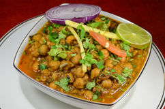 Channa Masala - chole Royalty-vrije Stock Foto