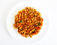 Channa Masala Stock Images