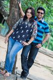 Channa Perera and Gayathri Dias Royalty Free Stock Photo