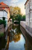Channal Certovka em Praga Imagens de Stock Royalty Free