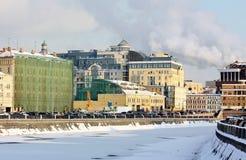 channe Μόσχα vodotvodny Στοκ φωτογραφίες με δικαίωμα ελεύθερης χρήσης