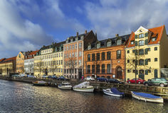 Channel in Copenhagen Stock Image