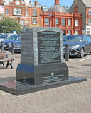The Channel Dash Memorial Monument Royalty Free Stock Image