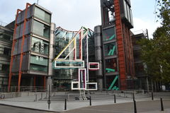 Channel Four Headquarters Royalty Free Stock Image